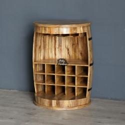 Wine Rack Barrel Design ABAG2101