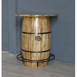 Bar Table Barrel Design ABJN2105