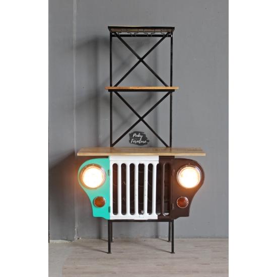 Wine Rack Jeep Design ABJN2104