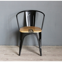 Chair Iron and Wood ABAP21011