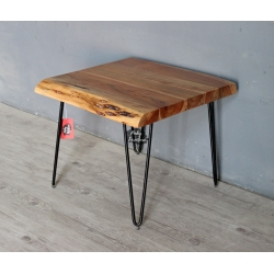 Side Table Live Edge Thick Top N19AB042