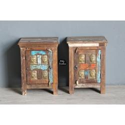 Bedside Cabinet Set of 2 HAAG210333