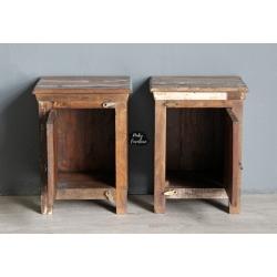 Bedside Cabinet Set HAJN210333