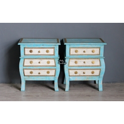 Bedside Cabinet Set of 2 O19AB2015