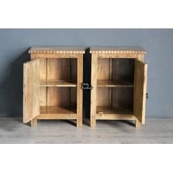 Bedside Cabinet Set of 2 ABD2036
